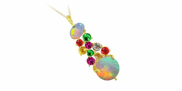 London Road Jewellery Harlequin Pendant